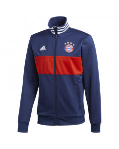Bayern Adidas 3 Stripes Track Top duks (CF1777)