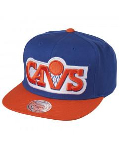 Cleveland Cavaliers Mitchell & Ness XL Logo 2 Tone Mütze