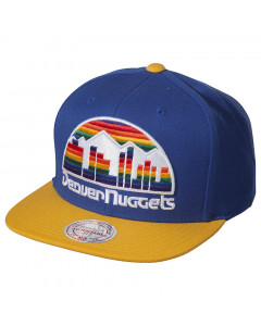 Denver Nuggets Mitchell & Ness XL Logo 2 Tone kapa