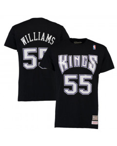 Jason Williams 55 Sacramento Kings Mitchell & Ness T-Shirt