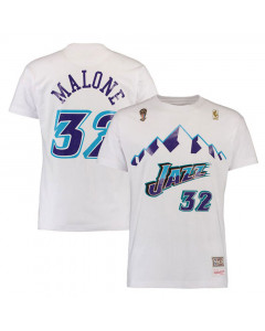 Karl Malone 32 Utah Jazz Mitchell & Ness T-Shirt
