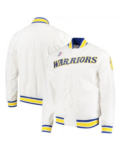 Golden State Warriors 1996-97 Mitchell & Ness Authentic Warm Up Jacke