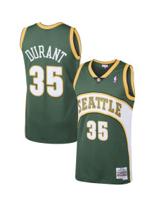 Kevin Durant 35 Seattle SuperSonics 2007-08 Mitchell & Ness Swingman dres