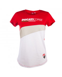 Ducati Corse Inserted Damen T-Shirt