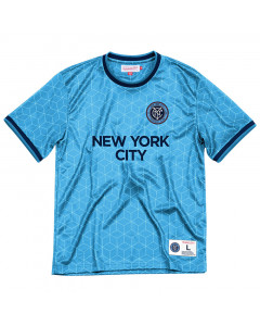 New York City FC Mitchell & Ness Equaliser Top T-Shirt