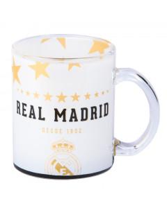Real Madrid Tasse aus Glas