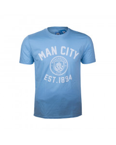 Manchester City Graphic Kinder T-Shirt