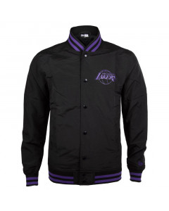 Los Angeles Lakers New Era Team App Pop Logo Varsity jakna