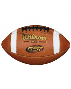 Wilson GST Leather Ball für American Football (WTF1003B)
