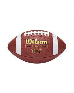 Wilson TDY Leather Jugend Ball für American Football (WTF1300B)