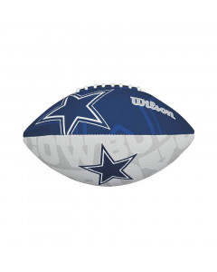 Dallas Cowboys Wilson Team Logo Junior lopta za američki fudbal