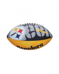 Pittsburgh Steelers Wilson Team Logo Junior žoga za ameriški nogomet