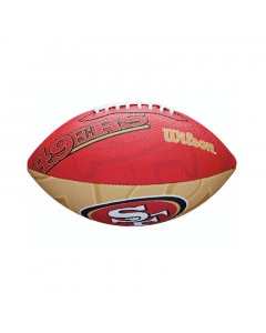 San Francisco 49ers Wilson Team Logo Junior Ball für American Football