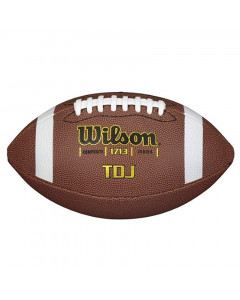Wilson TDJ Composite Junior Ball für American Football (WTF1713X)