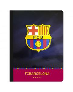 FC Barcelona Heft, Hardcover, Wappen A4/OC/80BLATT/80G