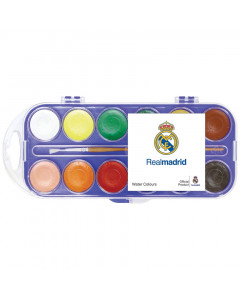 Real Madrid Wasserfarben