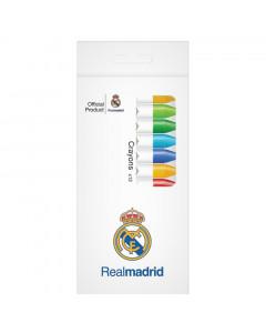 Real Madrid Wachsfarbstifte 12 Stk.