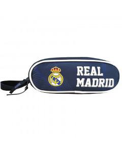 Real Madrid 2 Zip Oval Federtasche