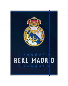 Real Madrid Mappe mit Elastikband A4