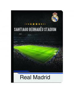 Real Madrid Heft, Hardcover, Santiago Bernabeu A4/OC/80BLATT/80G