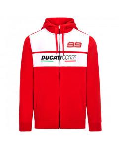 Jorge Lorenzo JL99 Ducati Corse duks sa kapuljačom