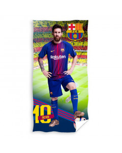 FC Barcelona Messi Badetuch 140x70