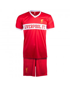 Liverpool V-Neck Panel Kinder Training Komplet Set