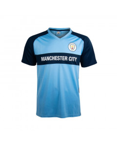 Manchester City V-Neck Panel dečja trening majica