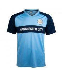 Manchester City V-Neck Panel Training T-Shirt