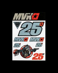 Maverick Vinales MV25 nalepke