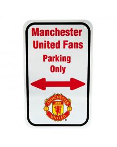 Manchester United No Parking Schild