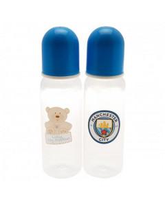 Manchester City 2x Baby Flasche