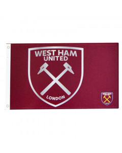 West Ham United Team React Fahne Flagge 152x91