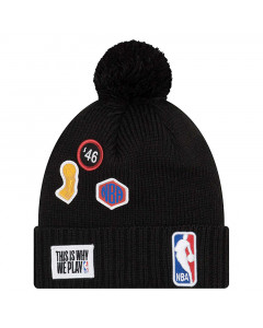 NBA logo New Era 2018 NBA Draft Wintermütze