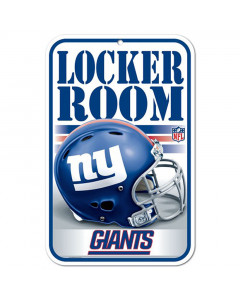 New York Giants tabla Locker Room