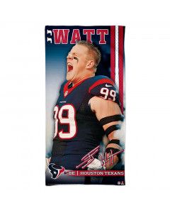 Houston Texans brisača 76x152 J.J. Watt