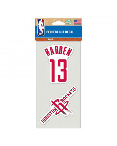 Houston Rockets 2x naljepnica James Harden