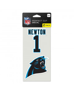 Carolina Panthers 2x nalepnica Cam Newton