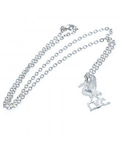 Liverpool ogrlica sa privezkom posrebrena
