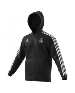 Real Madrid Adidas Track zip majica sa kapuljačom