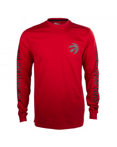 Toronto Raptors New Era Team Apparel majica dolgi rokav