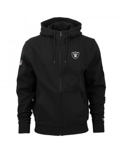 Oakland Raiders New Era Team Apparel Number zip majica sa kapuljačom