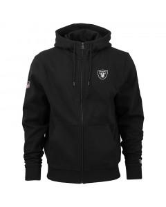 Oakland Raiders New Era Team Apparel Number Kapuzenjacke