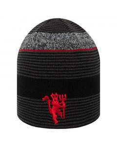 Manchester United New Era Marl Knit obostrana zimska kapa