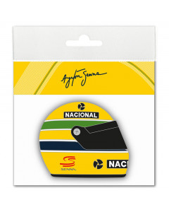 Ayrton Senna Helmet 1990 3D Aufkleber
