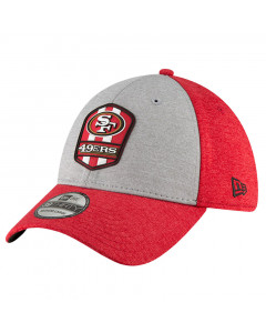 San Francisco 49ers New Era 39THIRTY 2018 NFL Official Sideline Road Mütze