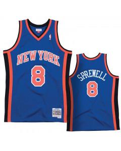 Latrell Sprewell 41 New York Knicks 1998-99 Mitchell & Ness Swingman dres