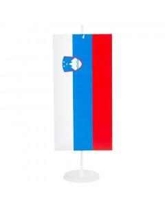 Slovenija namizna zastavica 12x24