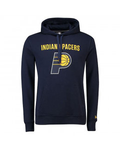 Indiana Pacers New Era Team Logo PO pulover sa kapuljačom