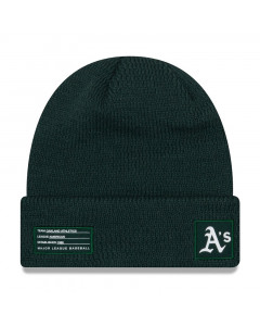 Oakland Athletics New Era 2018 MLB Official On-Field Sport Knit zimska kapa